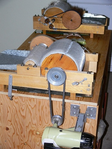 drum carder, electric carder