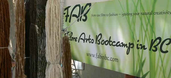 fibre arts bootcamp, art yarns