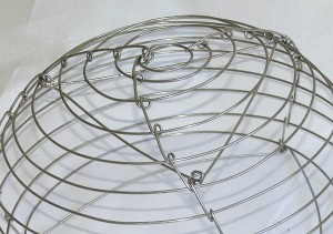 how to make a wire frame for lampshade