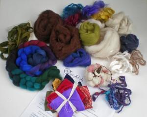 learning fiber art