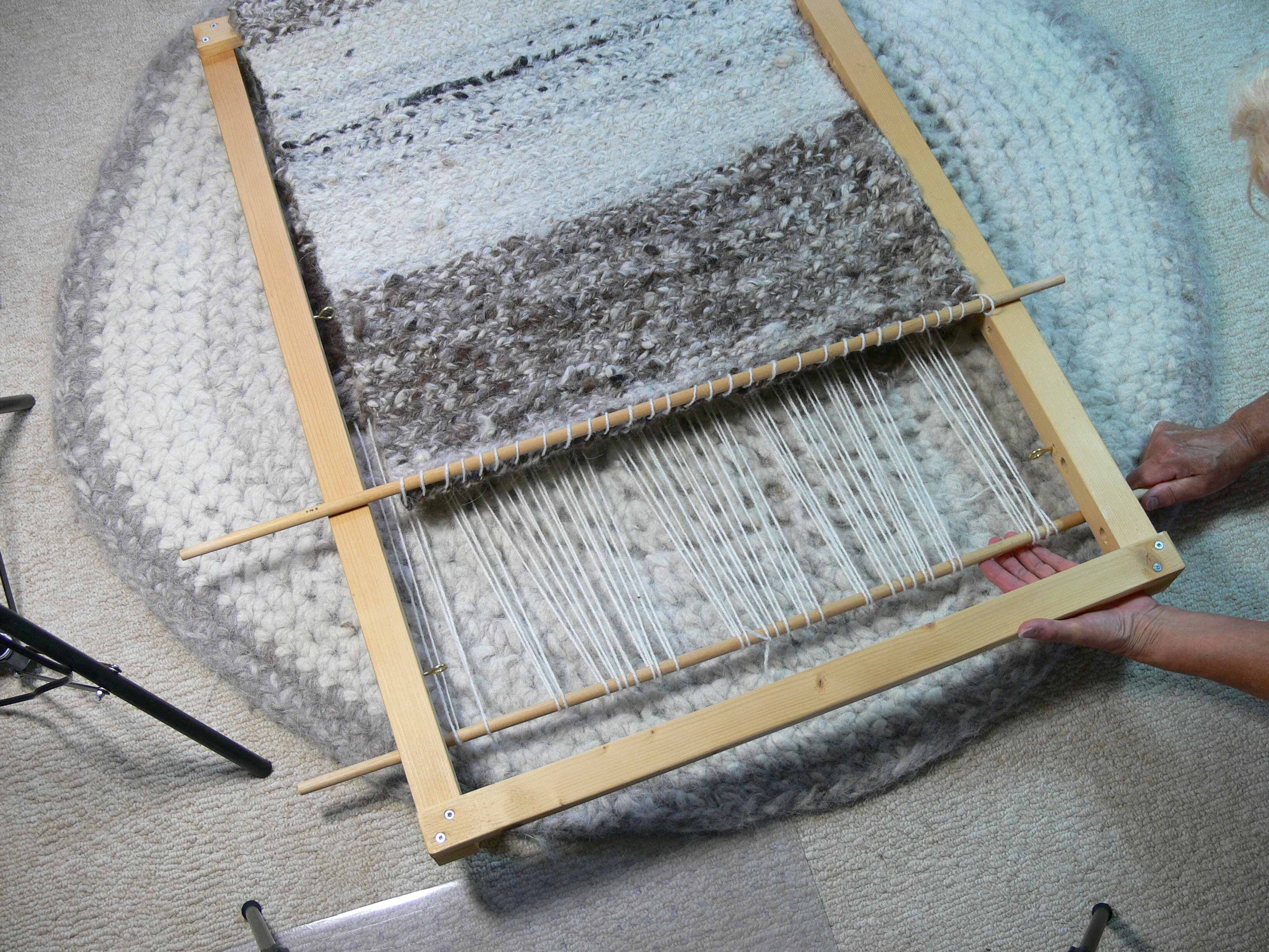 Extending The Rug Length Fibre Arts Bootcamp